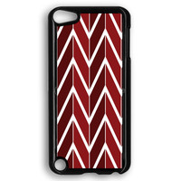 Ezine Articles Red Chevron iPod Touch 5 Case