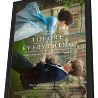 The Theory of Everything 11x17 Framed Movie Poster (2014)
