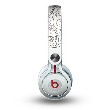 The Simple Vintage Bird on a String Skin for the Beats by Dre Mixr Headphones