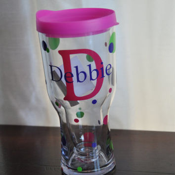 Brew 2 Go/ Beer Sippy/ Beer Tumbler/ Pink
