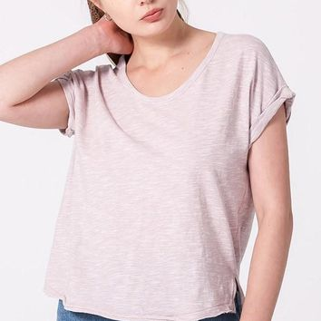 Simple Song Top - Pale Blush