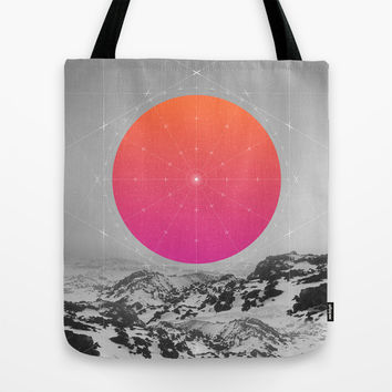 Middle Of Nowhere I Tote Bag by Soaring Anchor Designs
