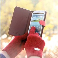 Wool Smart Touch Gloves