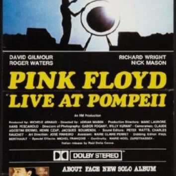 Pink Floyd Live At Pompeii Poster 16inch x 24inch