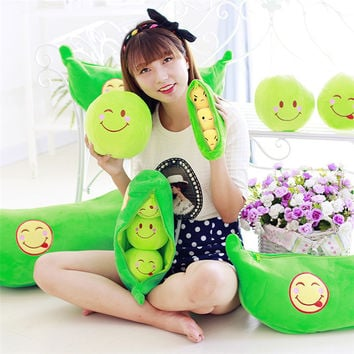 Plush Snow Peas by Baby in Motion