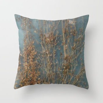 Something Wild Throw Pillow by Stacy Frett
