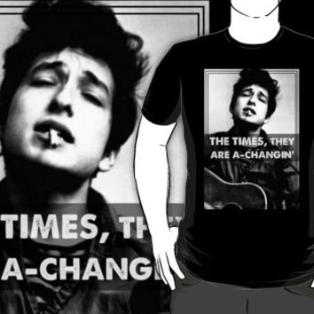Bob Dylan The Times They Are A-Changin' Shirt