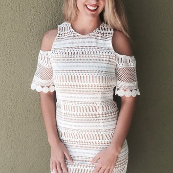 Sweet Sunshine Dress - White