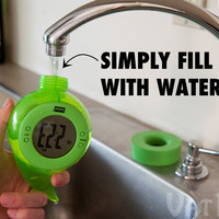 Bedol Water Powered Alarm Clocks: They run solely on tap water