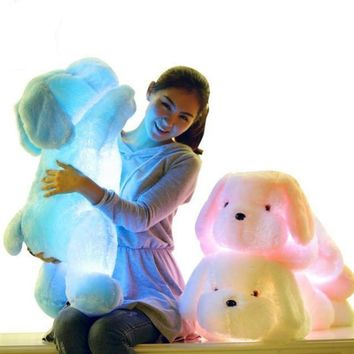 Plush LED Glowing Children Stuffed Dog Toys