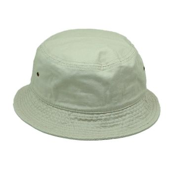 Men Women 100% Cotton Fishing BUCKET HAT CAP Boonie Brim visor Sun Safari OFF WT