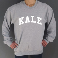 KALE  Unisex Sweatshirt very cool fashion Unisex Sweater University