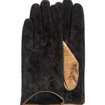 H&M Suede Gloves $17.99