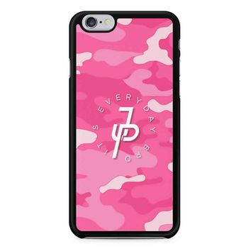 Jake Paul Pink Military Camo iPhone 6 / 6S Case