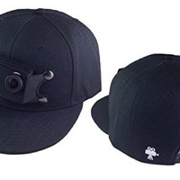 Bells and Bain Gosolo Hat Compatible with Gopro (Black)