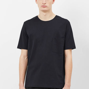 Totokaelo - Lemaire Black Pocket T-Shirt - $120.00