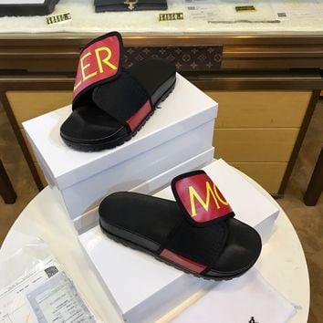 MONCLER  Men Casual Shoes Boots fashionable casual leather