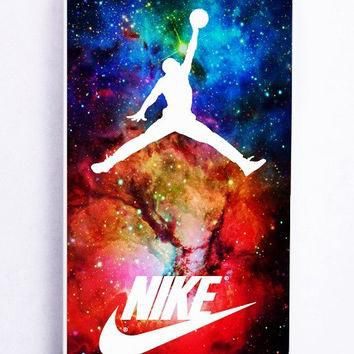 iPhone 5 Case - Hard (PC) Cover with air jordan nike nebula Plastic Case Design