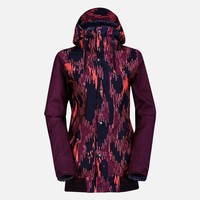 Volcom Womens Billie Jacket 14-15 (Panthera Burgundy) Snow Snow Jackets Womens Jackets at 7TWENTY Boardshop, Inc