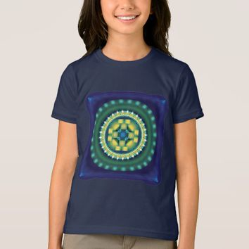 Girl's American Apparel Sacred Geometry T-Shirt