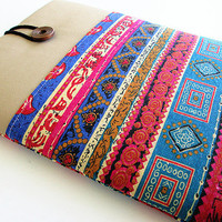 Macbook 13 inch  Case, Macbook case, Sleeve Macbook 13 Air/Pro Case Padded 13in-Tribal.