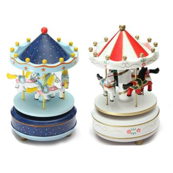 Colorful Wooden Music Box