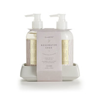Rosewater Sage Hand Wash and Lotion Set