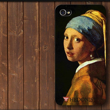 Girl with a Pearl Earring - Johannes Vermeer Phone Case iPhone Cover