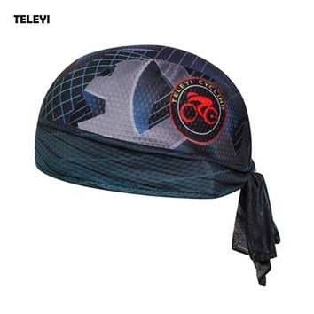 TELEYI Ciclismo Men Women Ciclismo Outdoor Cycling Cap Head Scarf Headscarf Headband Running Riding Bandana Pirate Hat Hood
