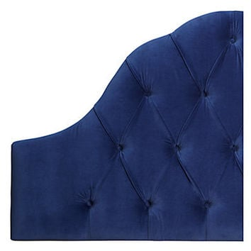 Eliza Headboard - Velvet | Headboards | Bedroom | Furniture | Z Gallerie