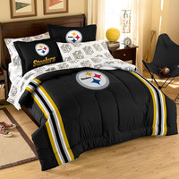 Pittsburgh Steelers NFL Bed in a Bag (Full)