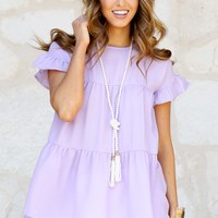 Going 'Round in Lavender | Monday Dress