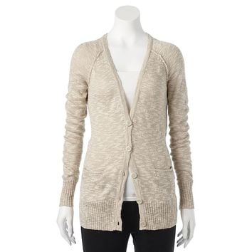 Mudd Boyfriend Cardigan - Juniors