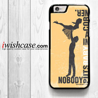 Dirty Dancing Movie for iPhone 4 4S 5 5S 5C 6 6 Plus , iPod Touch 4 5  , Samsung Galaxy S3 S4 S5 S6 S6 Edge Note 3 Note 4 , and HTC One X M7 M8 Case