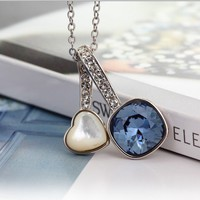 Love Under the Sky Necklace with Swarovski Elements