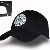 "Dharma Institute ""The Swan"" cap from the Lost TV series"