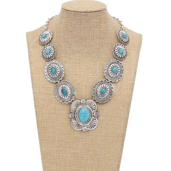 Women vintage  Turquoise Necklaces