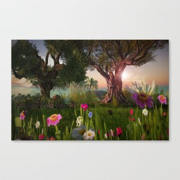 Multitude of Color Canvas Print by Bella Luna Arts