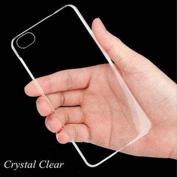 Clear Plastic Case For iPhone 5 5S 5C 6 6S Plus 4 4S Cover Crystal Phone Pouch Ultra thin Slim Transparent 6 6s Plus Funda Coque