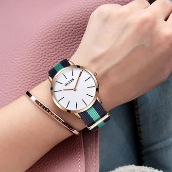 OLEVS Luxury Brand Fashion Female Wristwatch Quartz Leather Bracelet Watches Women Ladies Watch Casual Clock Relogio Feminino