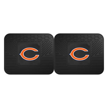 Chicago Bears NFL Utility Mat (14x17)(2 Pack)