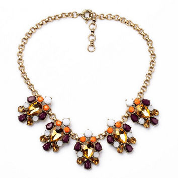 Citrine Statement Necklace