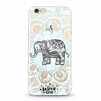 Save the Elephants! Serenity Clear Case