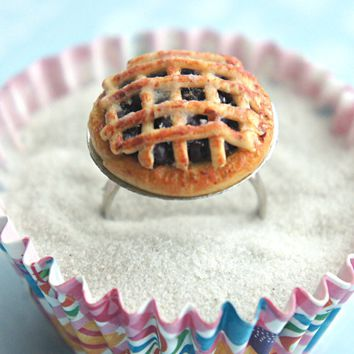 Blueberry Pie Ring