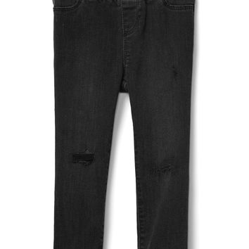 Superdenim Favorite Skinny Jeans in Destruction with Fantastiflex|gap