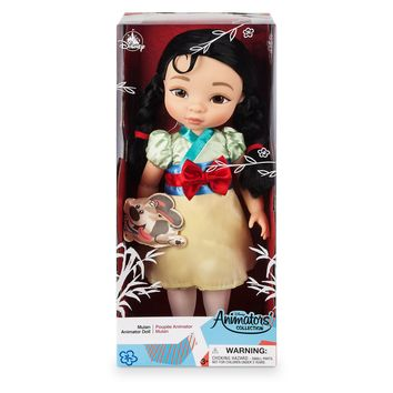Disney 2019 Animators' Collection Mulan with Little Brother Doll New with Box