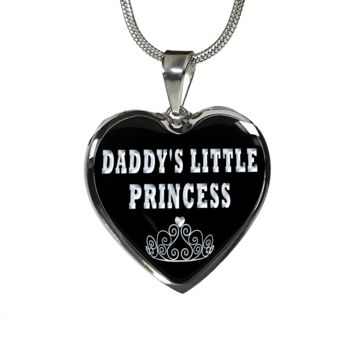 Daddy's little princess Luxury pendant necklace