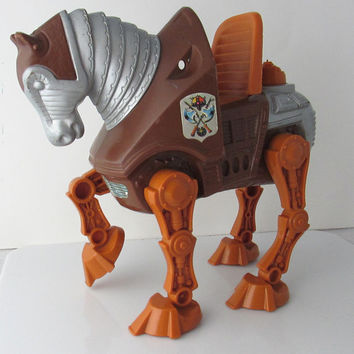 Stridor MOTU He Man Toy Figure Horse Vintage Mattel 1980s - Missing Parts/ For Repair