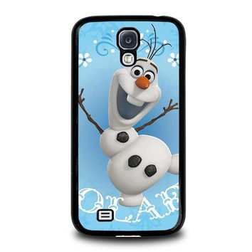 olaf frozen disney samsung galaxy s4 case cover  number 1