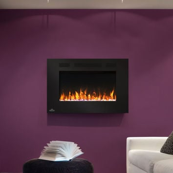 Napoleon Allure 32 NEFL32FH Wall Hanging or Recessed Electric Fireplace